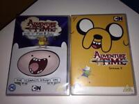 Adventure time season 1 and 2