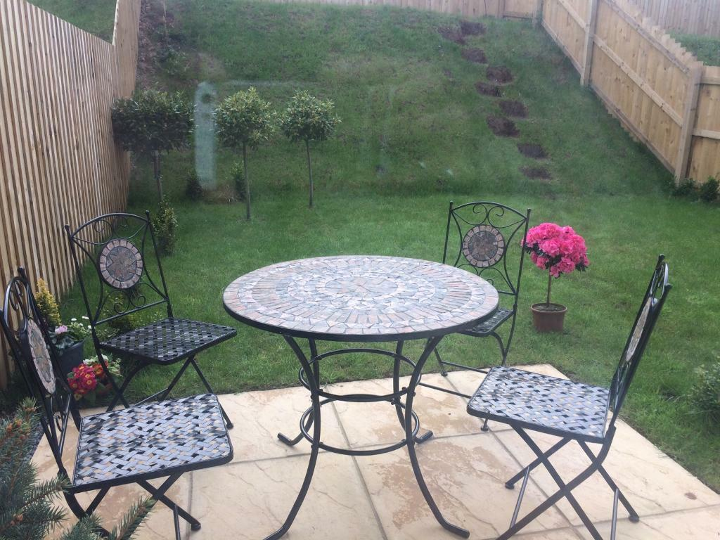 mosaic garden furniture set 4 seater brand new - Garden Furniture 4 Seater