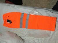 Hi vis GORTEX bottoms Orange