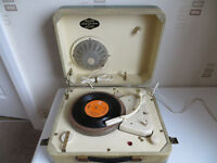 Philips Disk Jockey Major 1950s vintage valve record player