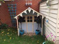 Wooden Children's Play house