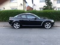 BODY WORK NEEDS TLC STARTS AND DRIVES. MAZDA RX8 1.3 - FULL LEATHER SEATS