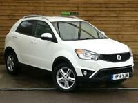 SsangYong Korando 2.0 ELX 4x4 5dr TOP OF THE RANGE (grand white) 2014