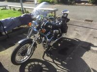 AJS DD Regal Raptor 125cc with lots of EXTRAS! -Helmet, Jacket, Panieers, Boots, TES Cover & Chain