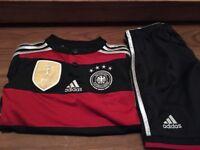 German football strip age 7 - 8