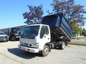 2007 GMC Sierra 3500 correction, GMC W4500, Dump truck