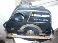 b&d circular saw 550watt £15
