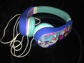 Frozen headphones