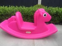Little Tikes Rocking Horse-Pink