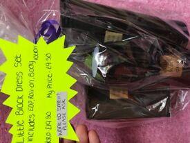 Little black dress perfume set