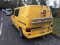 VW T4 Barn Door Fiamma Bike Rack