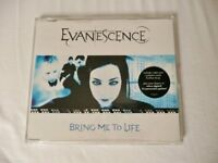 Evanescence Bring Me To Life 4 Track CD Amy Lee Ben Moody Alternative Metal