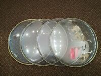"Remo Ambassador 14"" Clear Drum Heads - Only £8 each!!!"