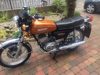 1978 SUZUKI GT250B MUST BE SEEN PART OF PRIVATE COLLECTION SPARE TANK ,MOTD £3499