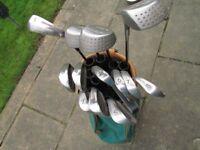 Tony Jacklin - St Andrews Golf clubs and bag