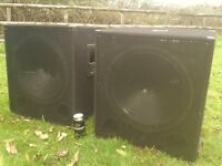 Active subwoofer speakers 1000w