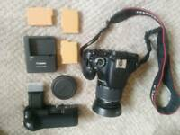 Canon 600D with 18-55mm lense