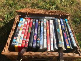Variety of DVDs a tenner