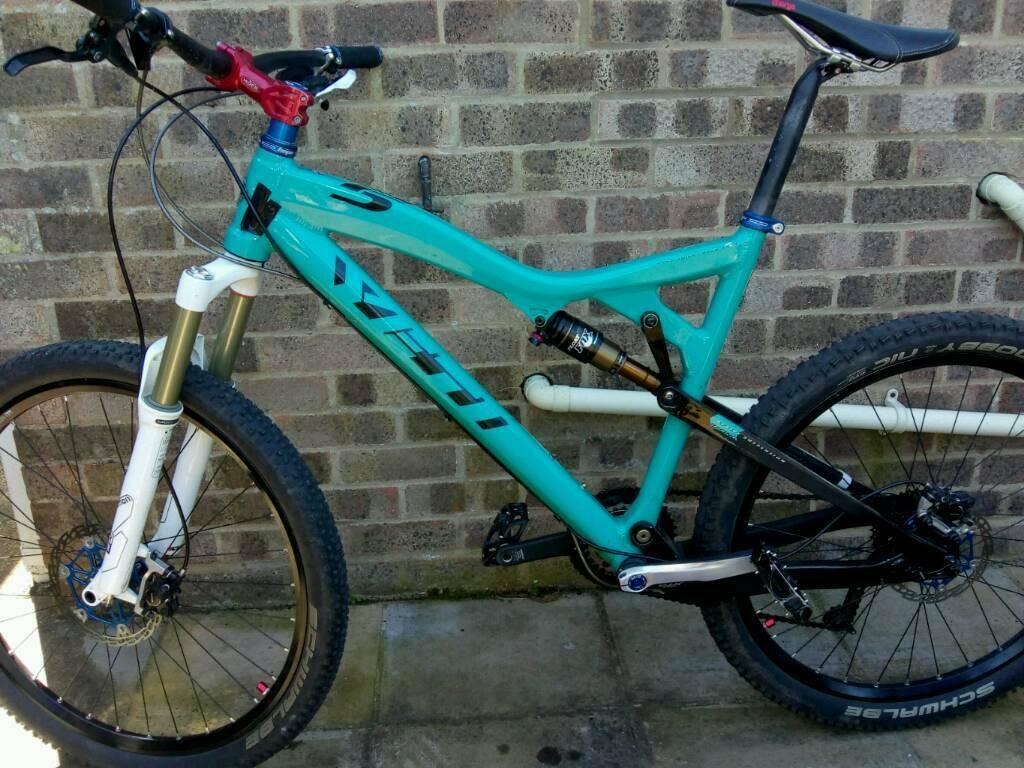 Yeti ASR 5  Full suspension Top Bike awsome spec  | in Warminster,  Wiltshire | Gumtree