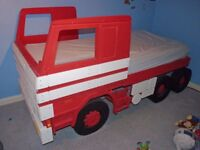Fun Furniture Collection Scania 142 Wooden Single Bed