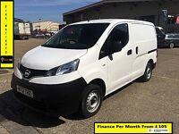 Bargain Sale!!Nissan NV200 1.5 dCi SE - 1 Owner- FSH- 1 YR MOT- Rear Camara , Elec Mirrors / Window