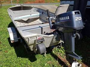 Savage Tinnie 3.55m 20hp Yamaha Woree Cairns City Preview