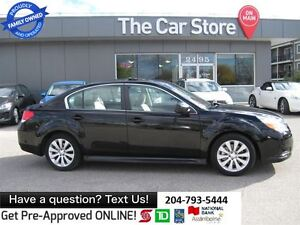 2011 Subaru Legacy 3.6R LTD. htd Leather SUNROOF BLUETOOTH USB