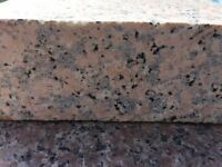STUNNING SOLID PINK GRANITE SLABS @ £35.00 PM2.