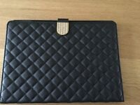 IPad Air 2 Black Padded Cover with Sparkly Clasp & hardly used.