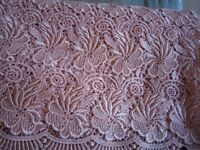 2 pieces of beautiful fabric, suitable for wedding, prom, special Occasion outfit