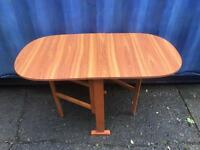 Foldaway table FREE DELIVERY PLYMOUTH AREA