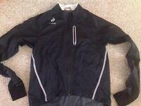 Le Coq Sportif cycling rain jacket XL