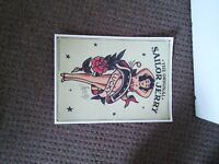 Limited Edition Sailor Jerry's Pin Up Girl Poster