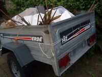 Erdé 142 Trailer in excellent condition, ready to ride £250