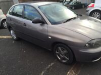SEAT IBIZA S 5DR MOT TILL 31/07/2017 GOOD CONDITION