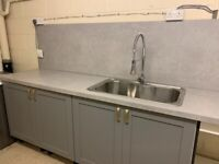 Nearly New Kitchen Cupboards/ Worktops and Sink for Sale