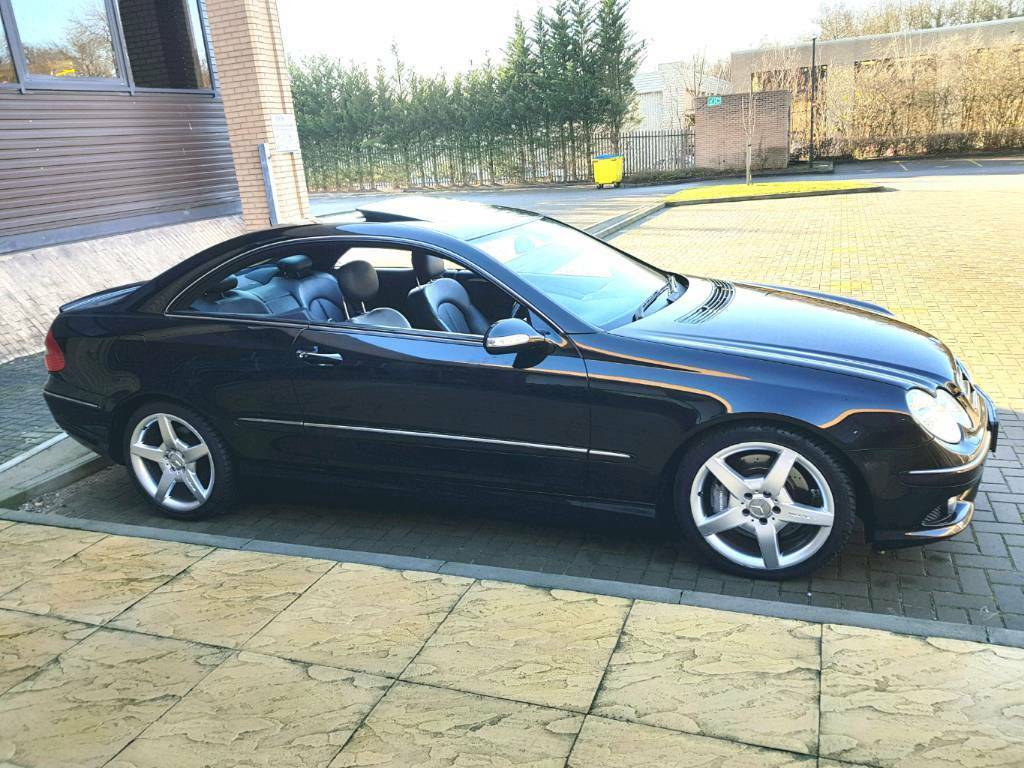 2006 mercedes clk 320 amg sport 7g tronic sat nav logic. Black Bedroom Furniture Sets. Home Design Ideas