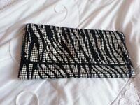 Warehouse Brand New Embellished Clutch Bag