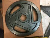 Olympic weights 10kg each