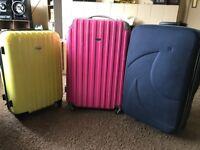 3 suitcases