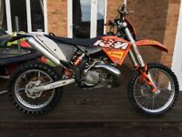 KTM EXC 250 2009 Full MOT Excellent Condition
