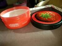 The body shop strawberry body cream