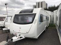 2013 SWIFT S LINE 6 berth fixed bed and side bunk beds FINANCE AVAILABLE Monday sale