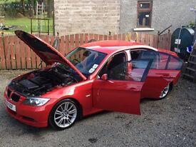 CAR NOW SOLD - 2007 BMW 320d SE not Audi Mercedes VW Seat