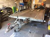 Brian James A-Sport Twin Axle Car Transporter Trailer