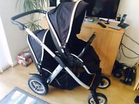Oyster max double pushchair