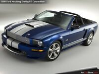 Shelby GT Mustang Convertible - 2008 Limited Run. Rare - only one in UK.