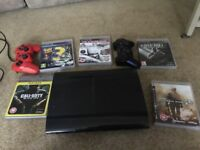 Sony PS3 500GB + 5 Games + Camera