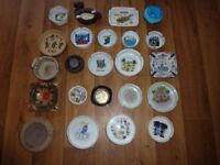 Ashtray collection - 23 Ashtrays from around the World (Unused)