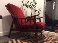 Mid century Danish vintage armchair